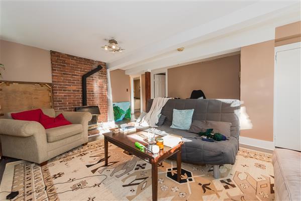 Lower Suite Living Area