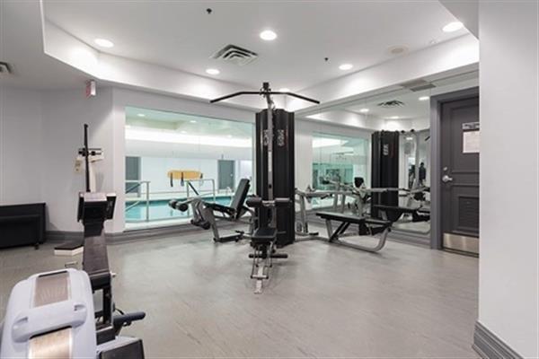 Building Gym & Pool