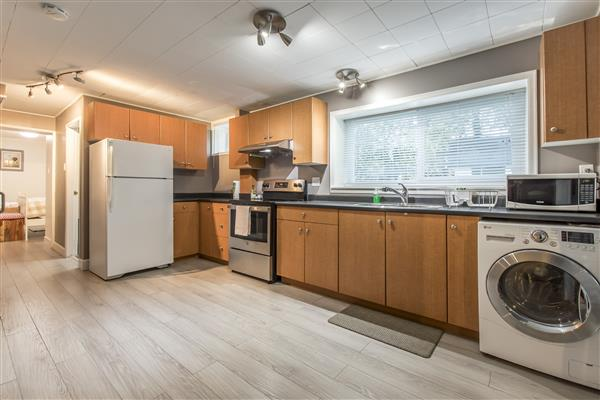 Lower Level Kitchen/laundry