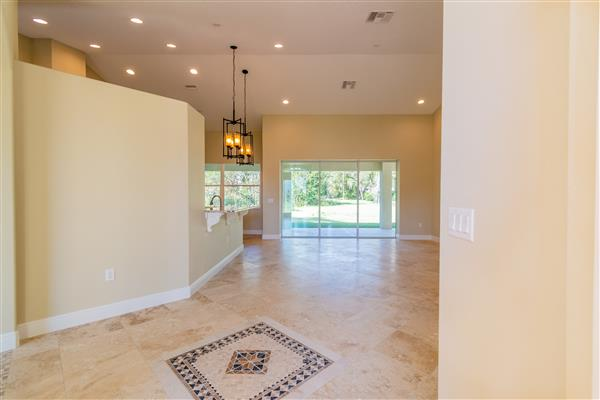 Great room from foyer