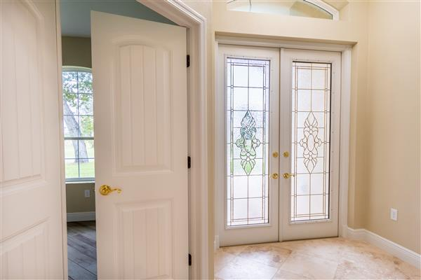 Front Door and French door